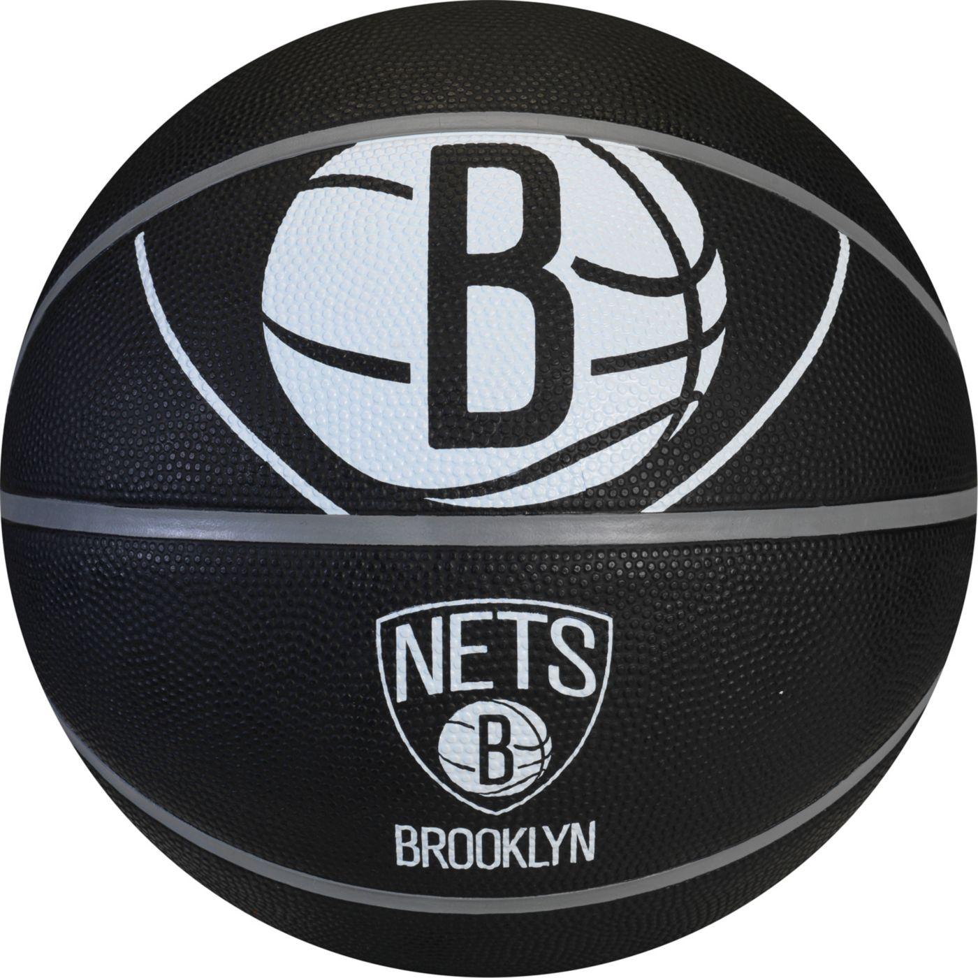 Spalding Brooklyn Nets Full-Sized Court Side Basketball