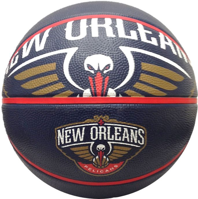 Spalding New Orleans Pelicans Full Sized Court Side Team Basketball