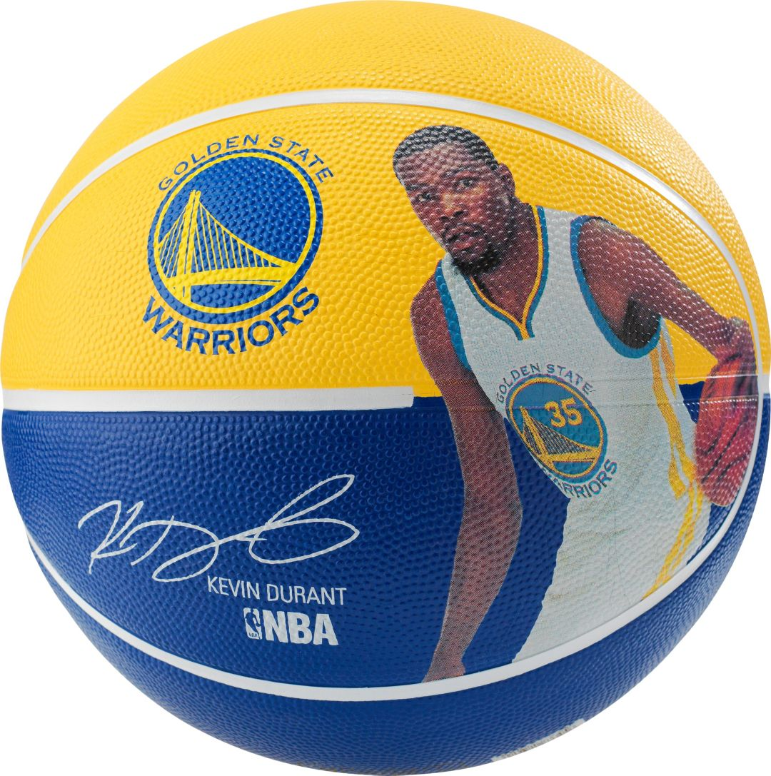 3c18ec19825f Spalding Golden State Warriors Kevin Durant Player Basketball ...