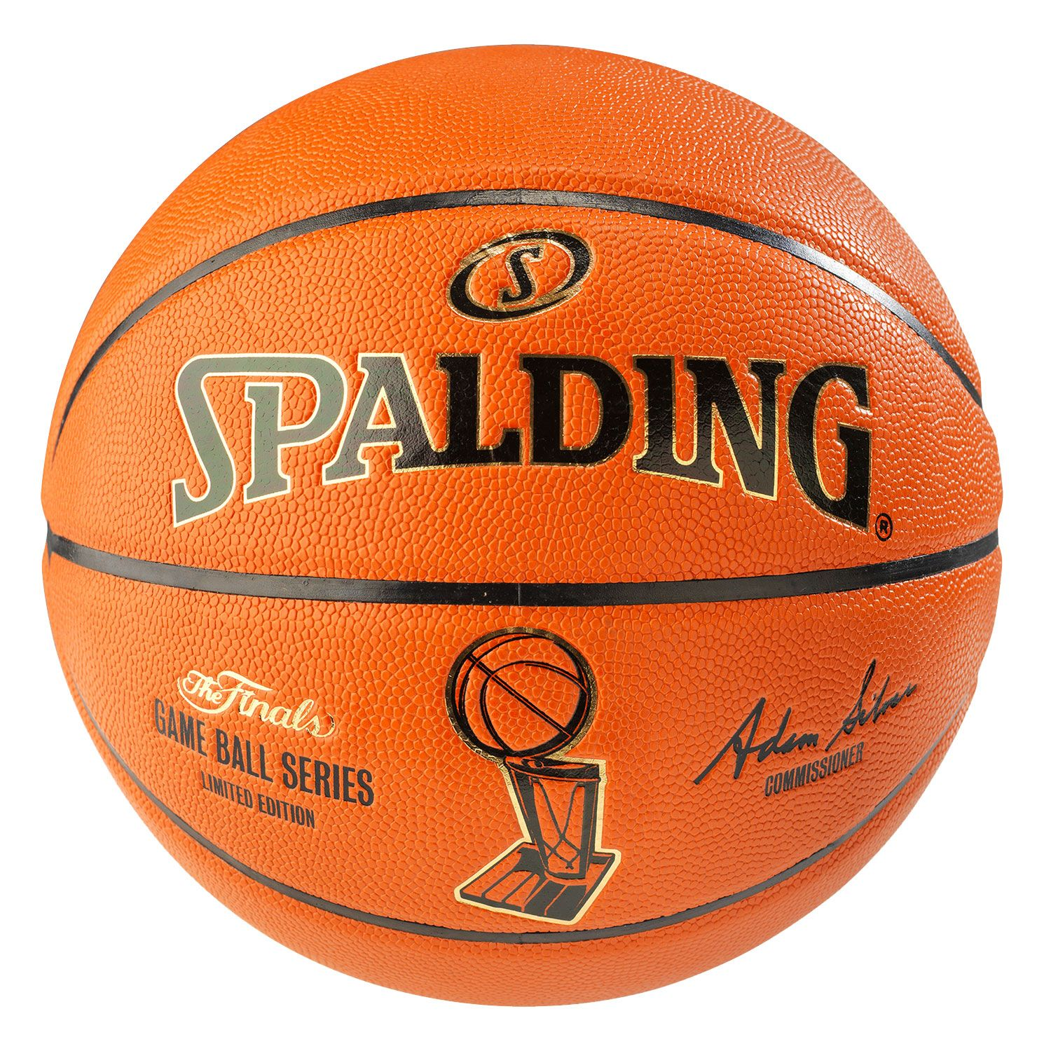 Spalding nba finals official basketball 29 5 dick 39 s sporting goods - Spalding basketball images ...