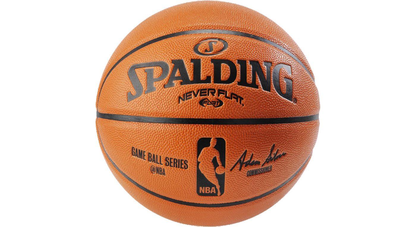 "Spalding NBA Replica NEVERFLAT Basketball (28.5"")"