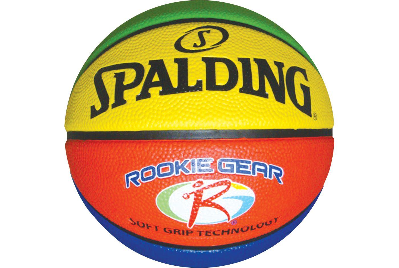 Spalding Rookie Gear Sponge Rubber Youth Basketball (27.5'')