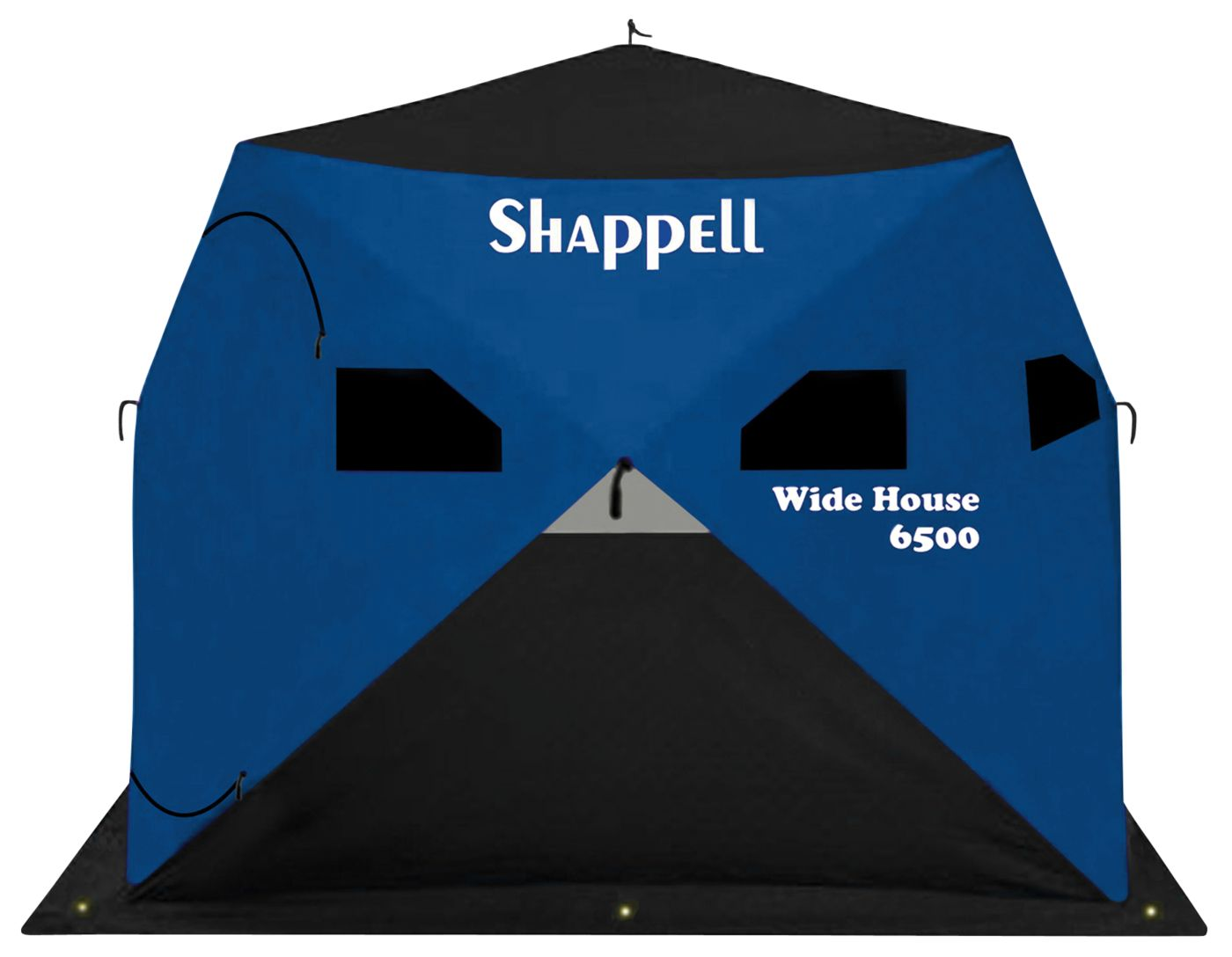 Shappell Wide House 6500 4-Person Ice Fishing Shelter