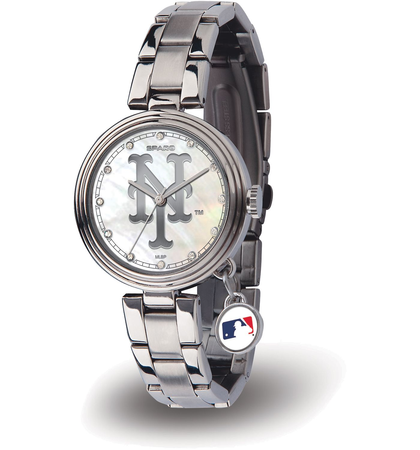 Sparo Women's New York Mets Charm Watch