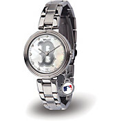 Sparo Women's Boston Red Sox Charm Watch