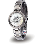 Sparo Women's Miami Dolphins Charm Watch