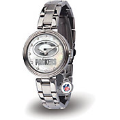 Sparo Women's Green Bay Packers Charm Watch