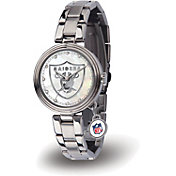 Sparo Women's Oakland Raiders Charm Watch