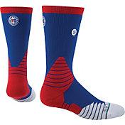 Stance Philadelphia 76ers On Court Logo Crew Socks