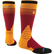Stance Miami Heat On Court Logo Crew Socks
