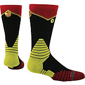 Stance Atlanta Hawks On Court Logo Crew Socks