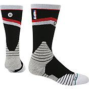 Stance Men's Portland Trail Blazers On Court Core Crew Socks
