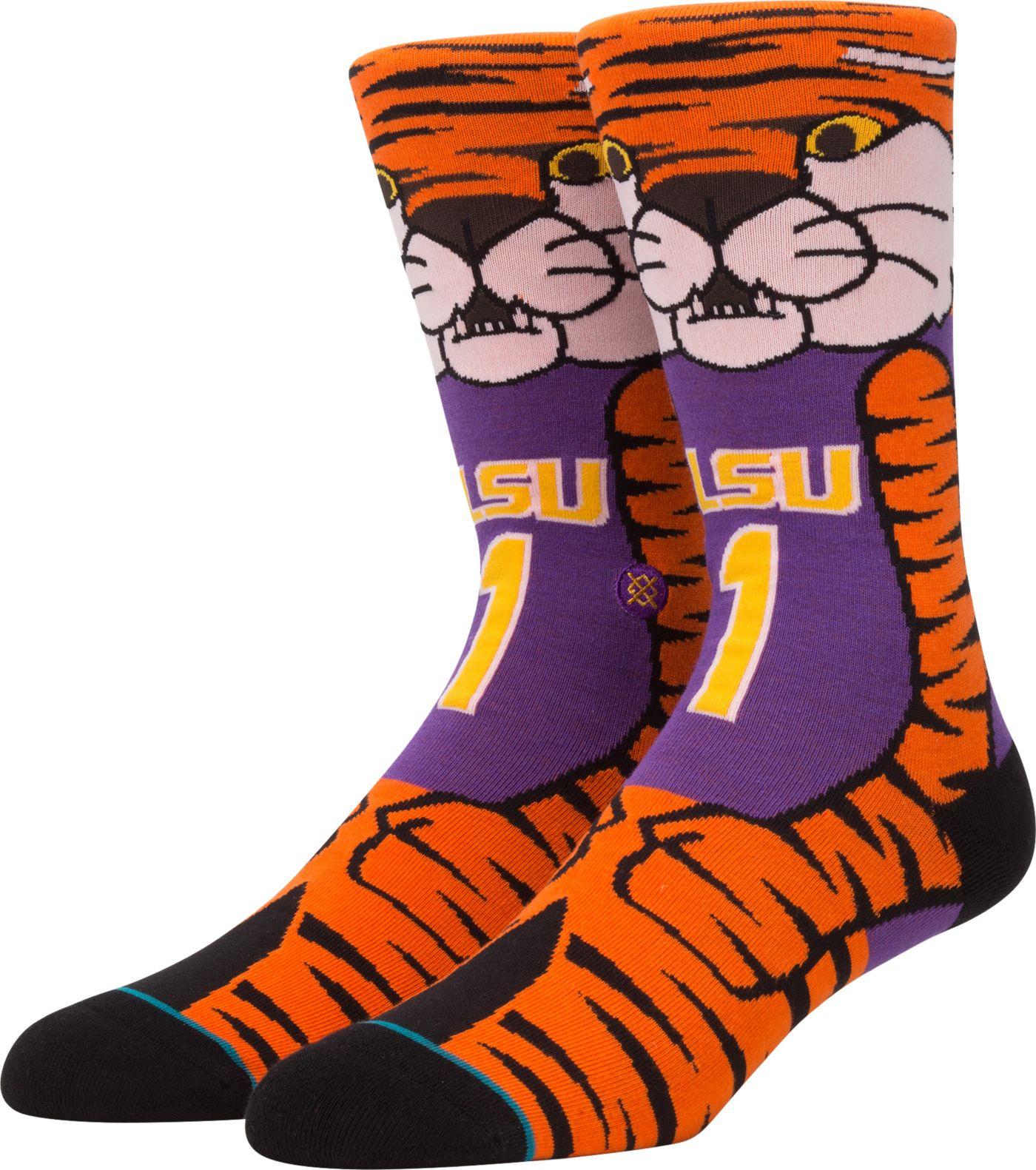 Stance Men's LSU Tigers Mascot Socks