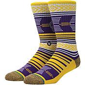 Stance LSU Tigers Mazed Socks
