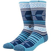 Stance Men's North Carolina Tar Heels Mazed Socks