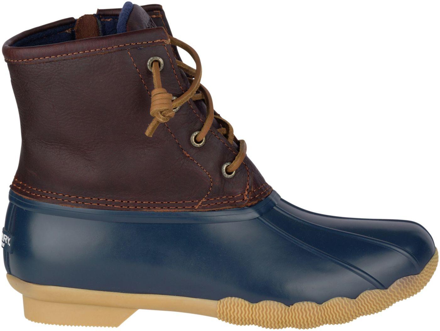 Sperry Top-Sider Women's Saltwater Waterproof Duck Boots