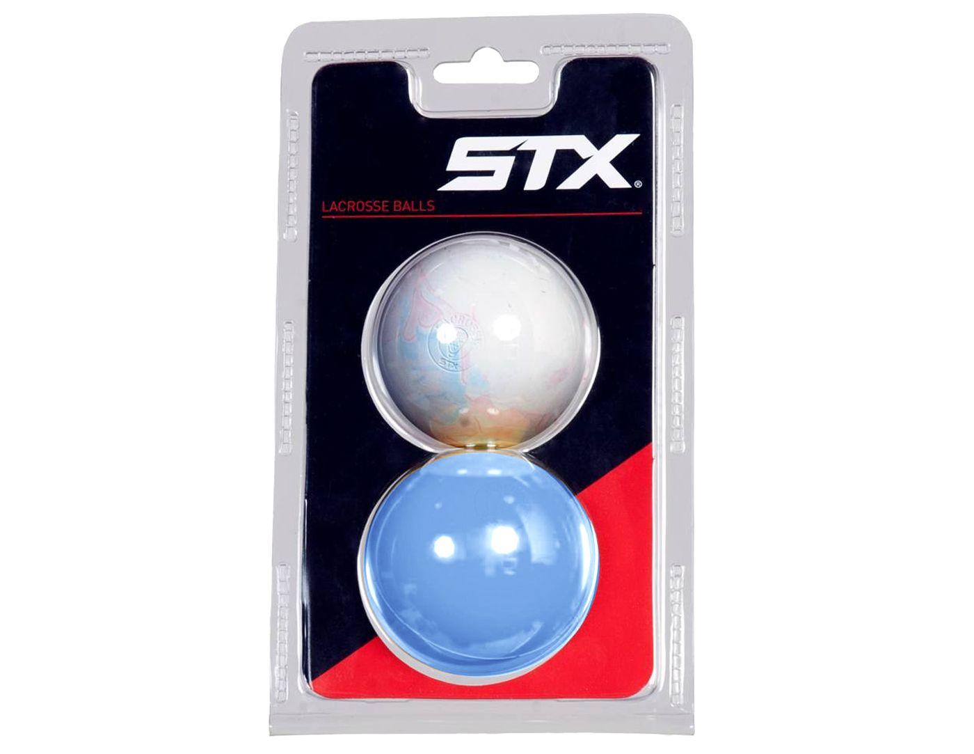 STX Marble Lacrosse Balls - 2 Pack