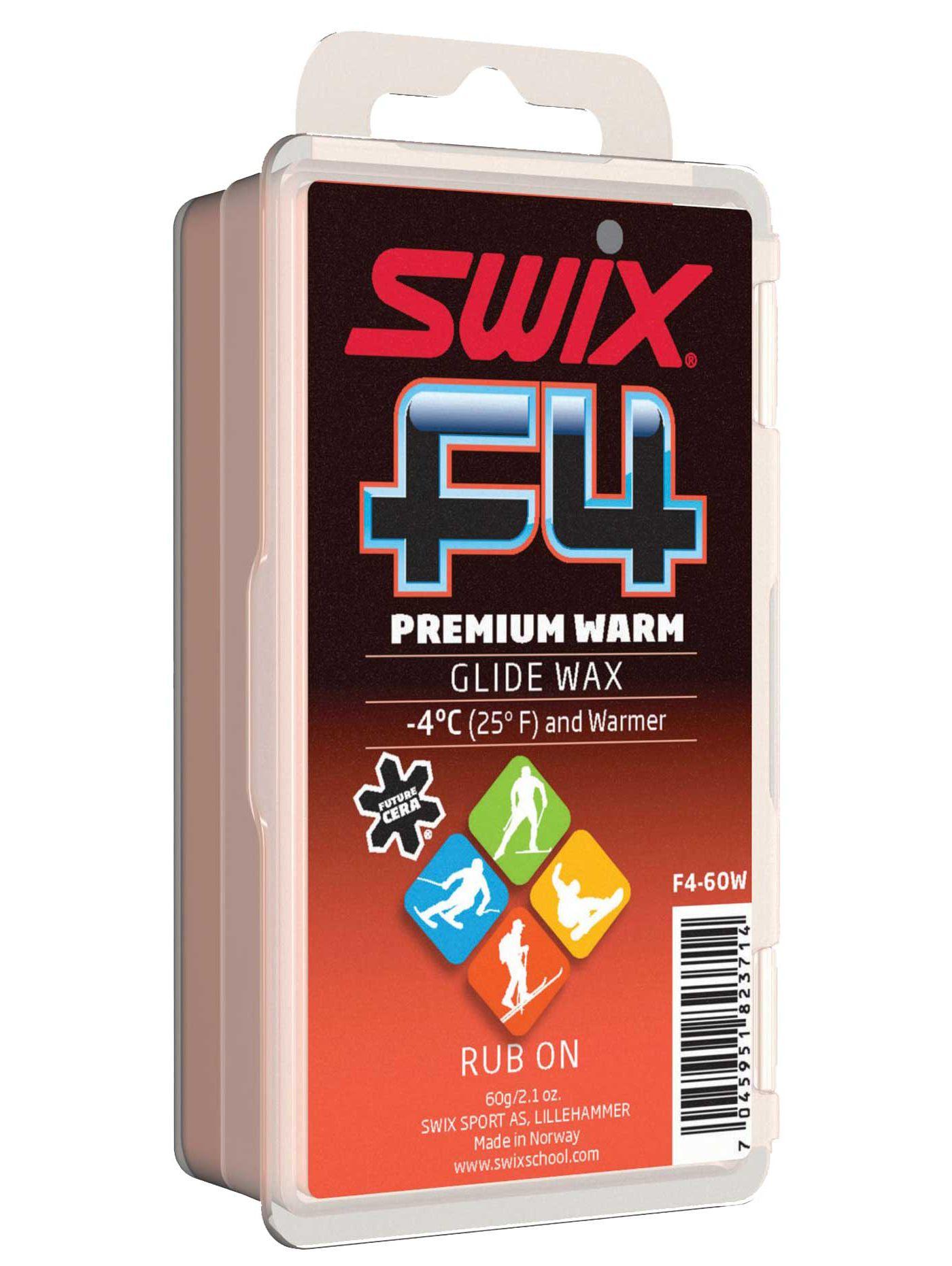 Swix F4 Premium Warm Universal Glide Wax Kit