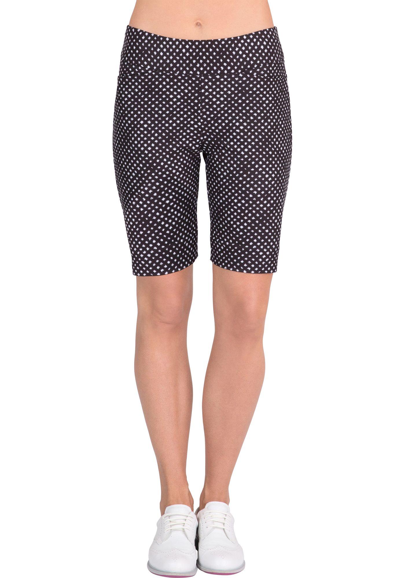 Tail Women's Modern Fit Dot Print Golf Shorts