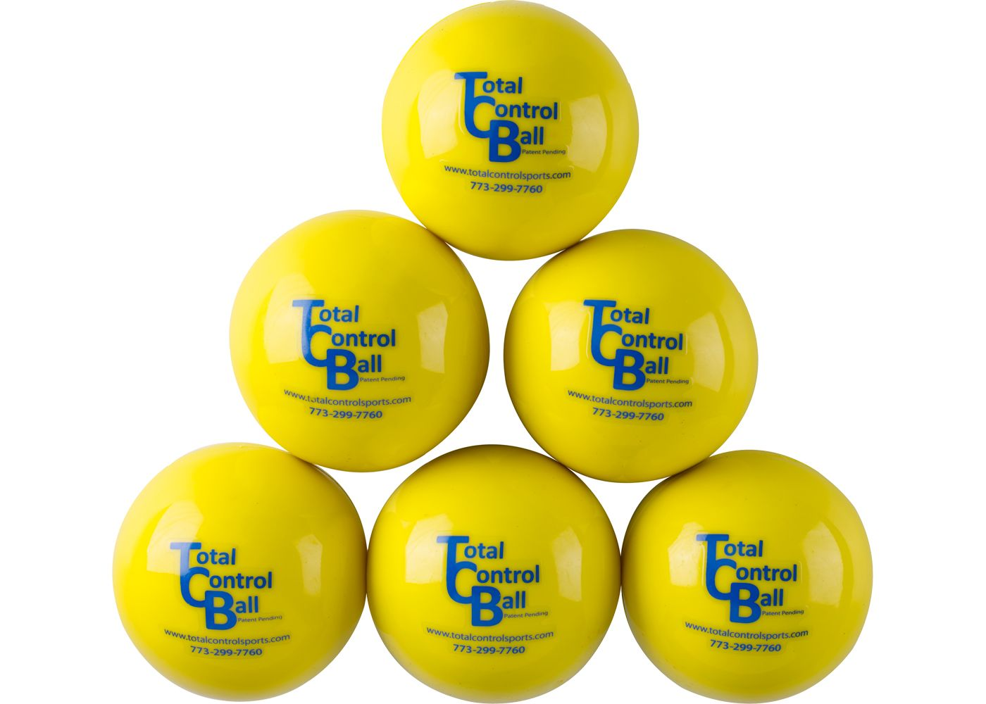 Total Control Sports TCB Atomic Balls - 6 Pack