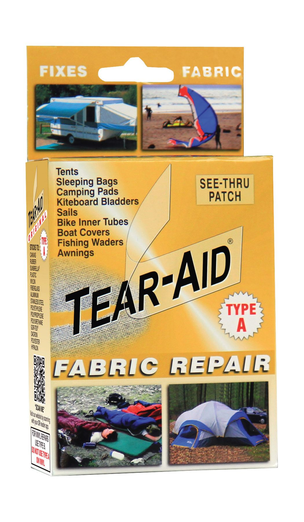 Tear Aid Fabric Repair Patch Dick S Sporting Goods