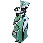 Tour Edge Women's Moda Silk 18-Piece Complete Set - (Graphite) - Green