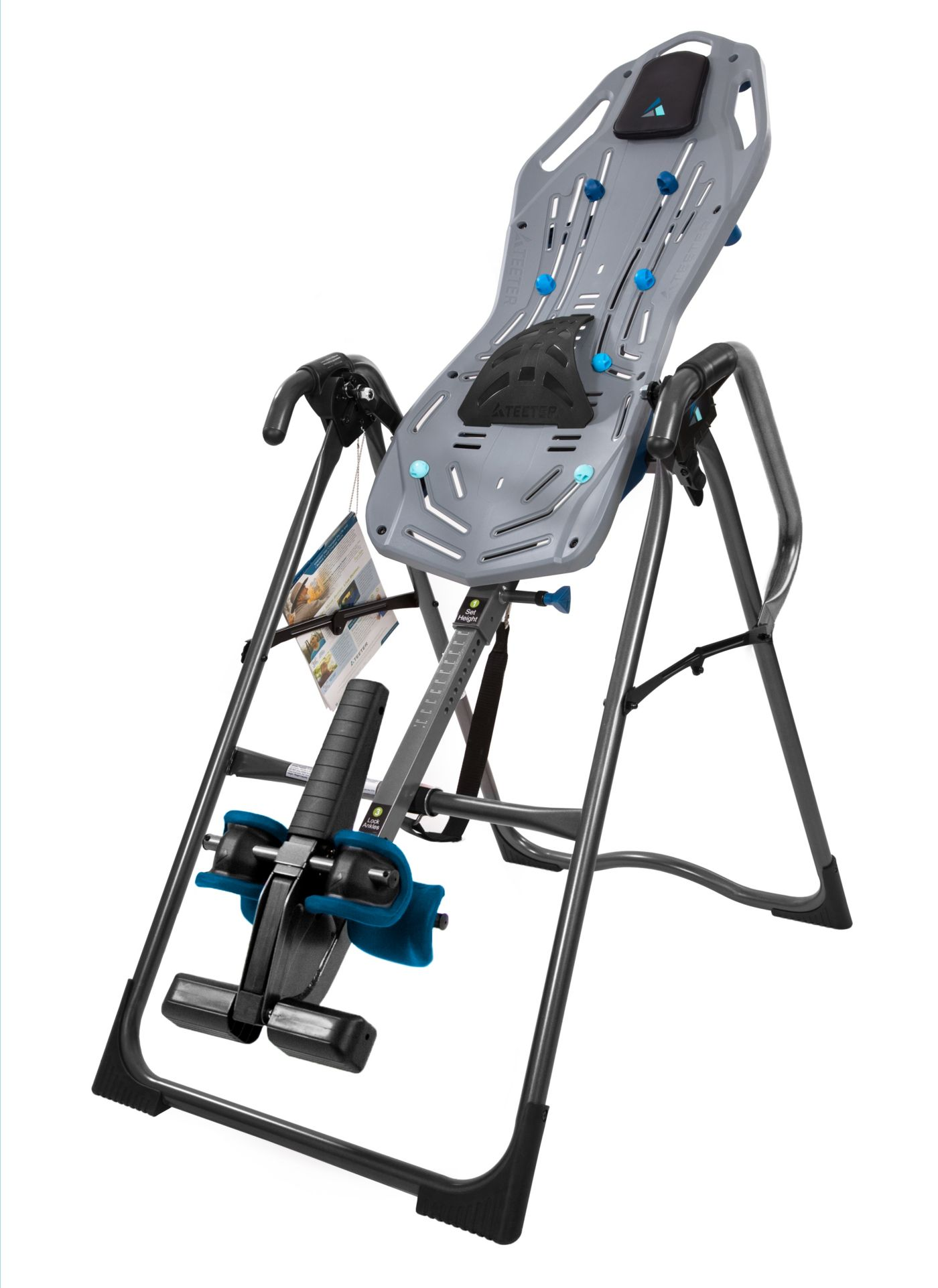 Teeter FitSpine FT-1 Inversion Table with Back Pain Relief DVD