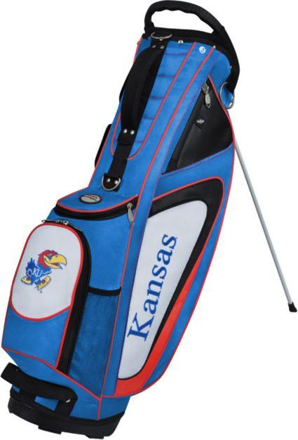 Team Effort Kansas Jayhawks GridIron II Stand Bag