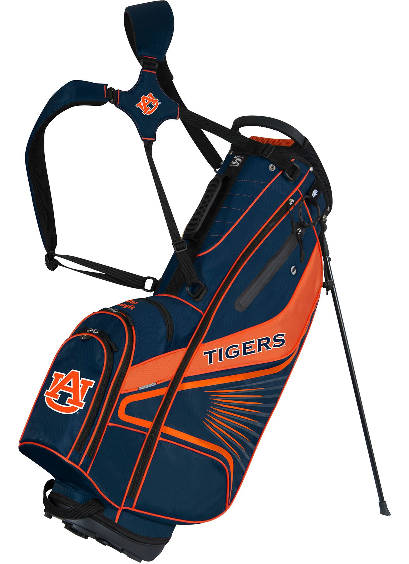 Team Effort GridIron III Auburn Tigers Stand Bag