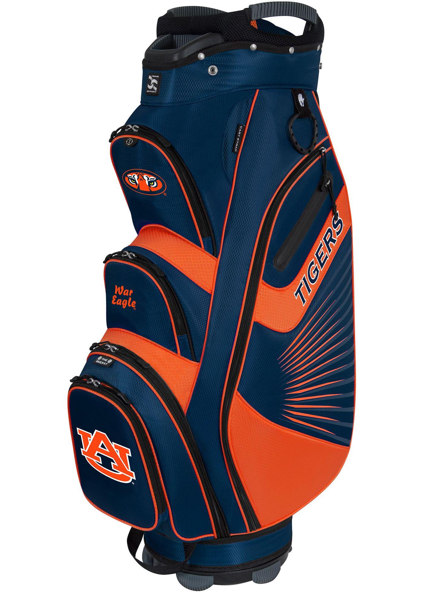 Team Effort Auburn Tigers The Bucket II Cooler Cart Bag