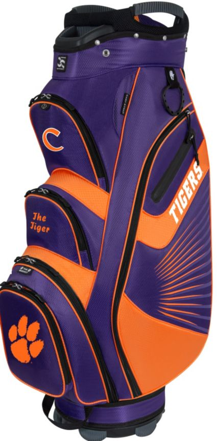 Team Effort The Bucket II Clemson Tigers NCAA Cooler Cart Bag