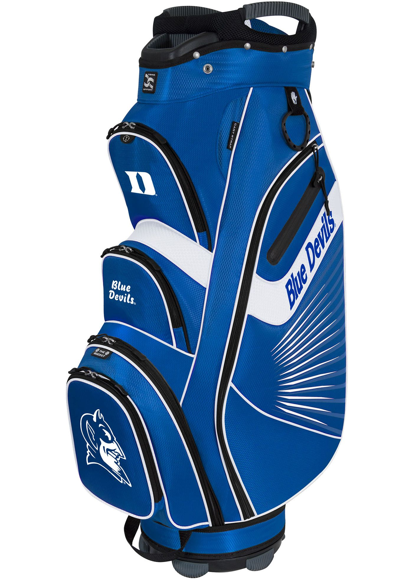 Team Effort Duke Blue Devils The Bucket II Cooler Cart Bag