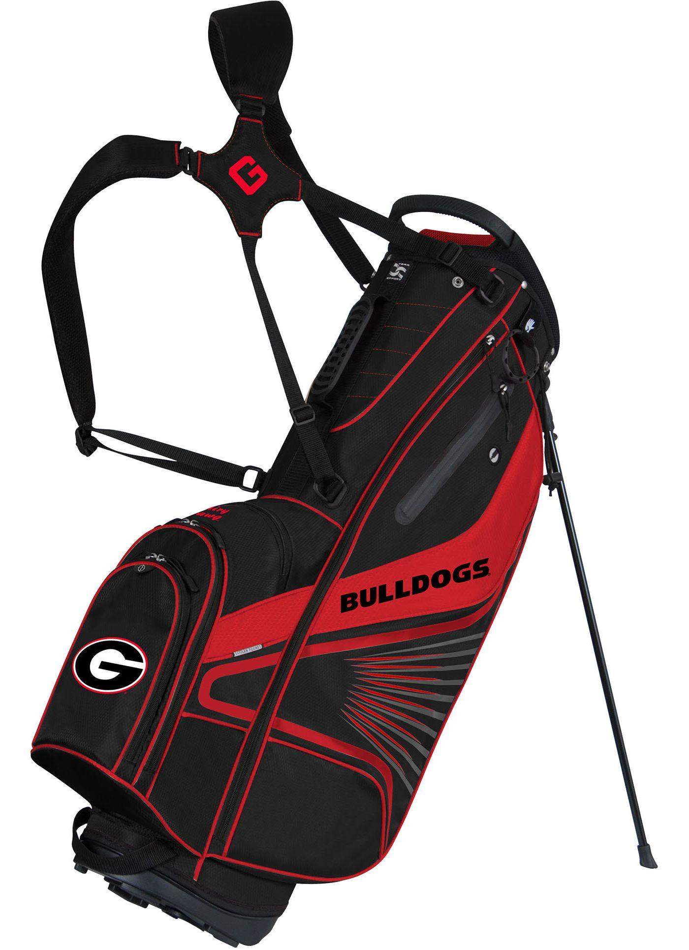 Team Effort Georgia Bulldogs Gridiron III Stand Bag
