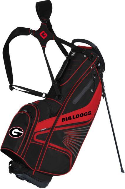 Team Effort GridIron III Georgia Bulldogs Stand Bag