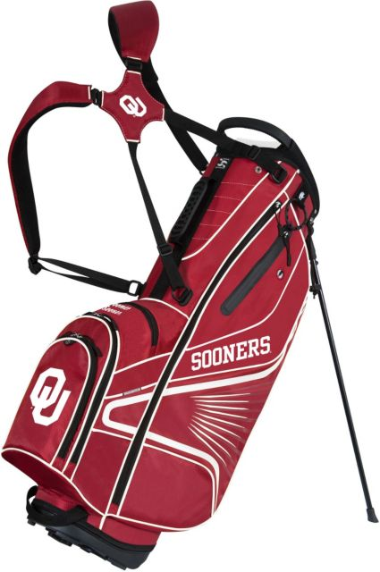 Team Effort GridIron III Oklahoma Sooners Stand Bag