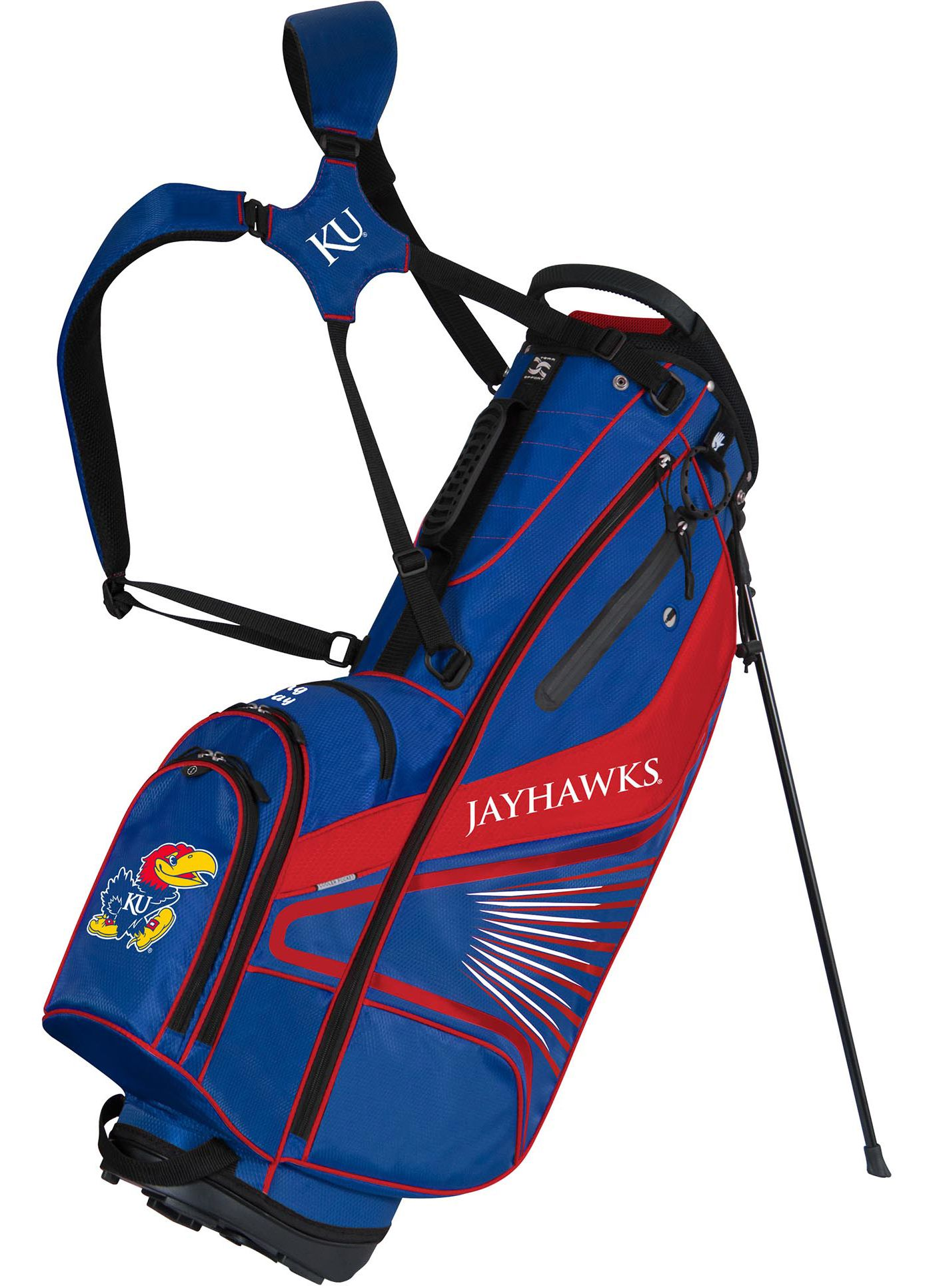 Team Effort GridIron III Kansas Jayhawks Stand Bag