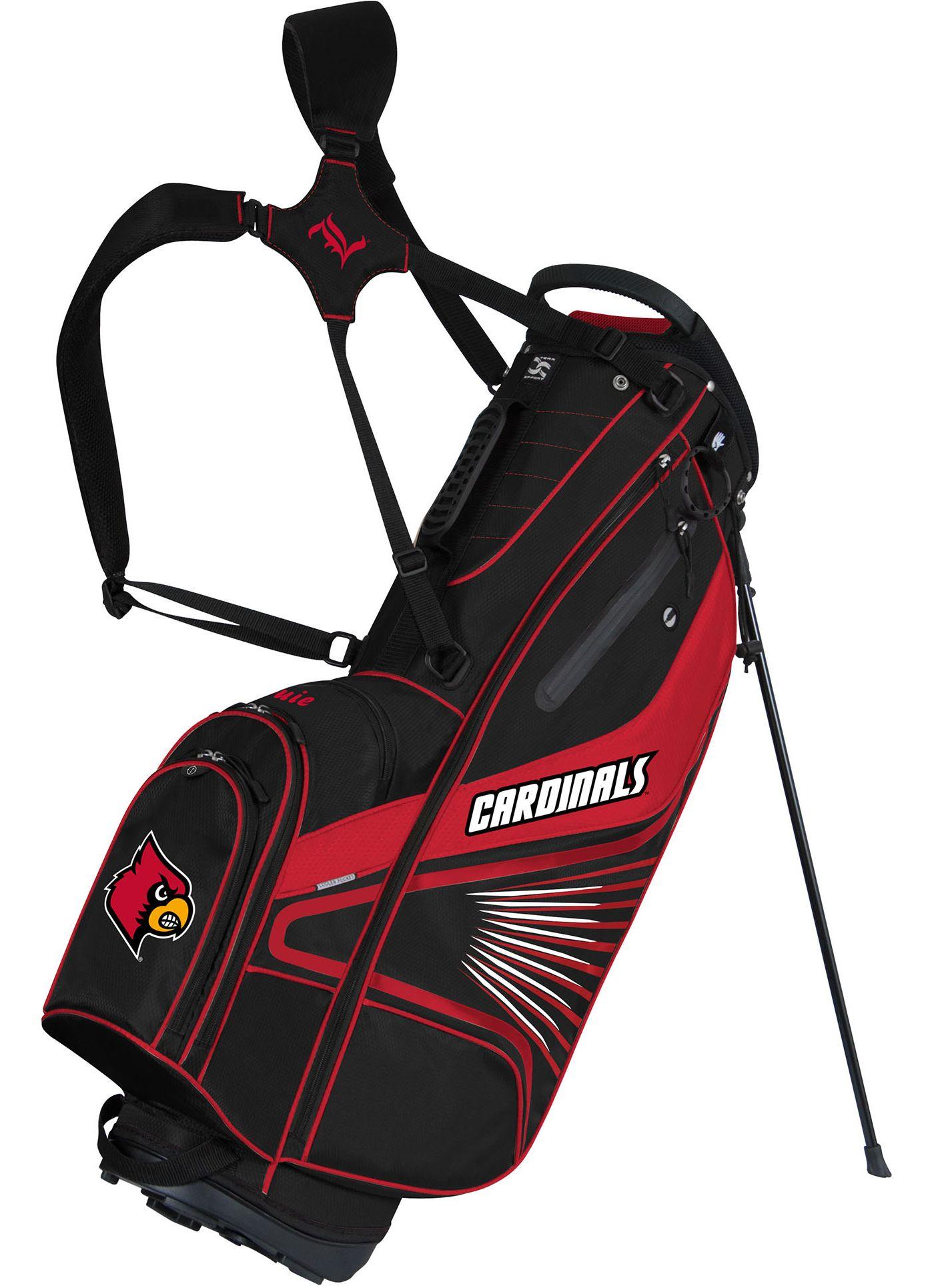 Team Effort GridIron III Louisville Cardinals Stand Bag