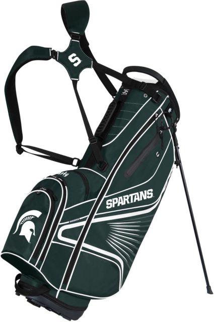 Team Effort GridIron III Michigan State Spartans Stand Bag