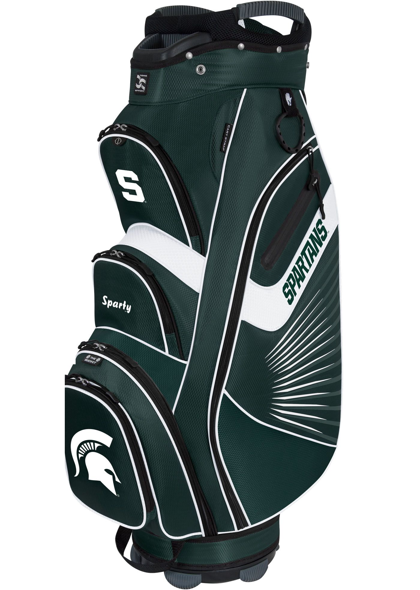 Team Effort The Bucket II Michigan State Spartans Cooler Cart Bag