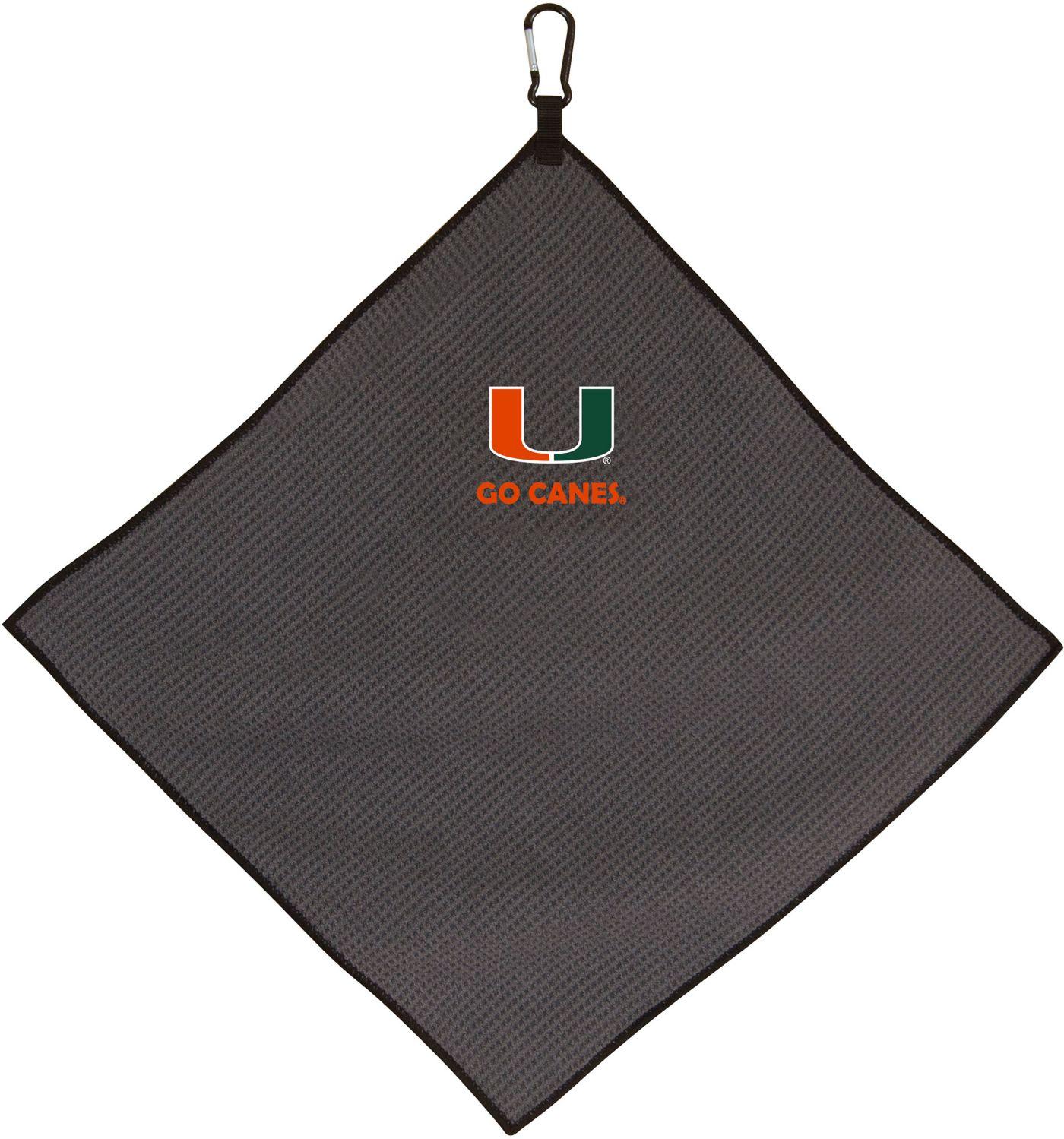 Team Effort Miami Hurricanes Microfiber Towel