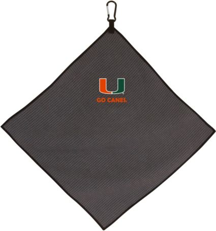 Team Effort Miami Hurricanes NCAA Microfiber Towel