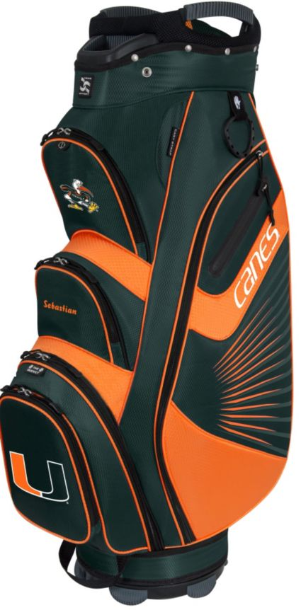 Team Effort The Bucket II Miami Hurricanes Cooler Cart Bag