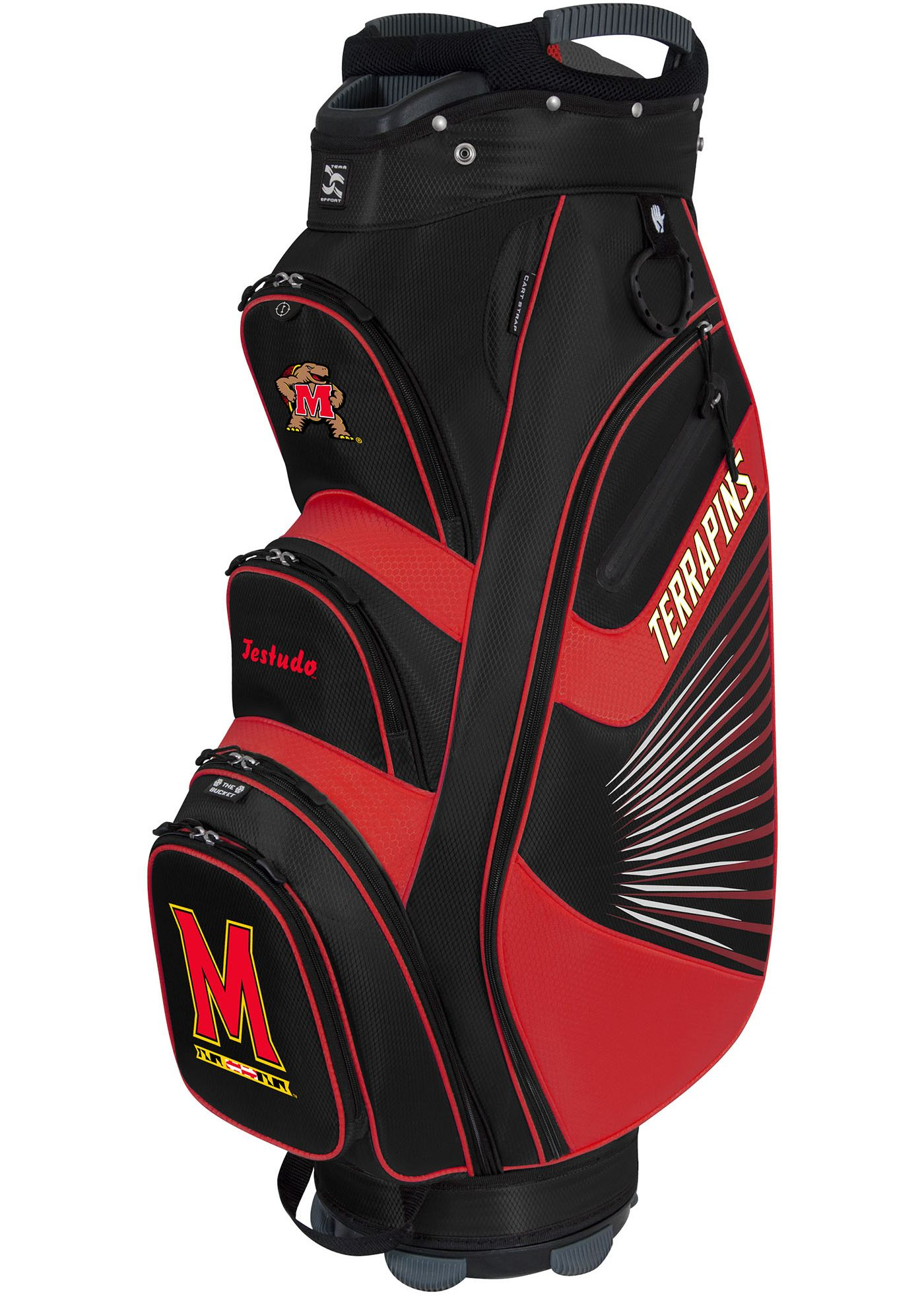 Team Effort The Bucket II Maryland Terrapins Cooler Cart Bag