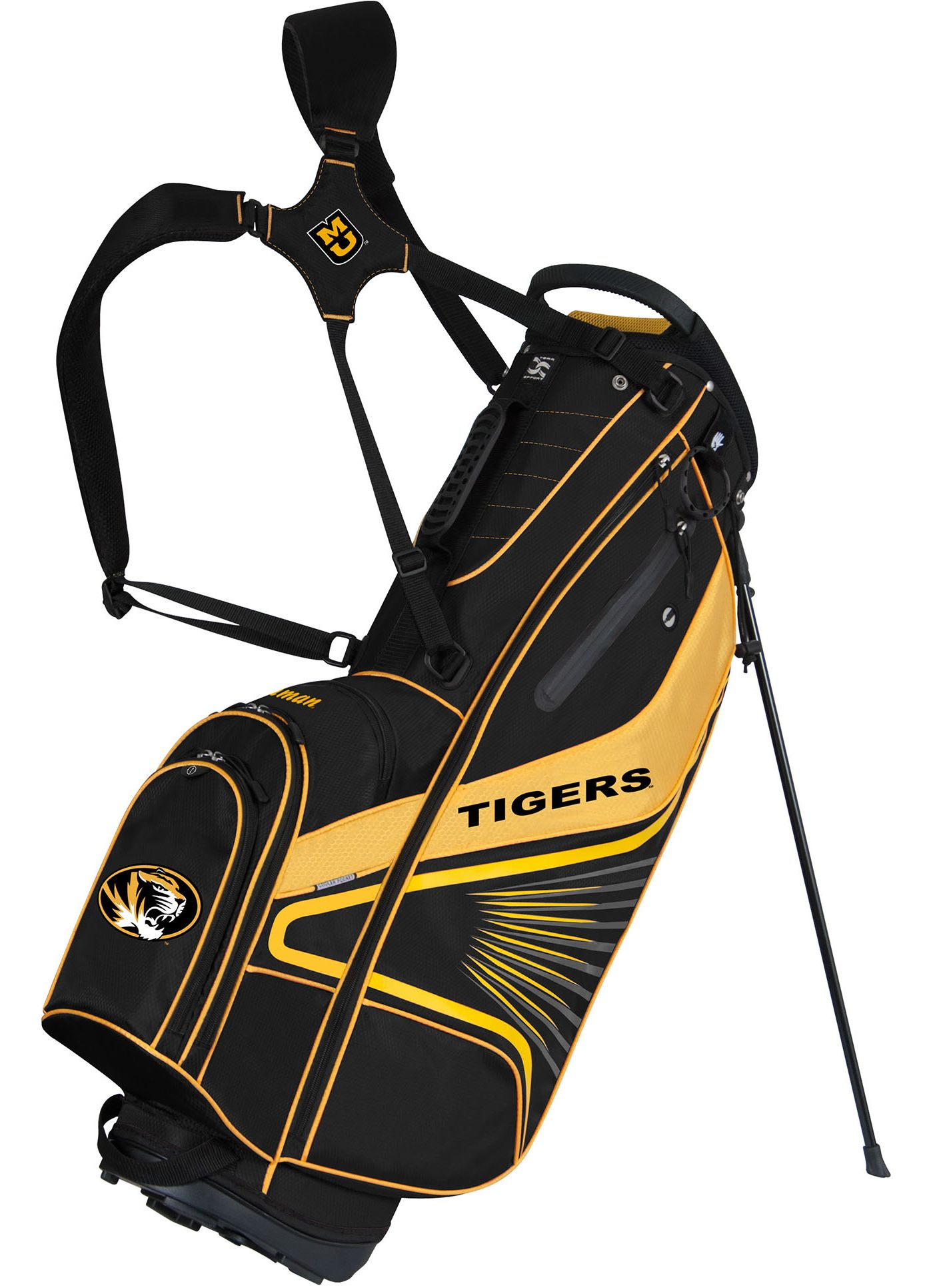 Team Effort GridIron III Missouri Tigers Stand Bag