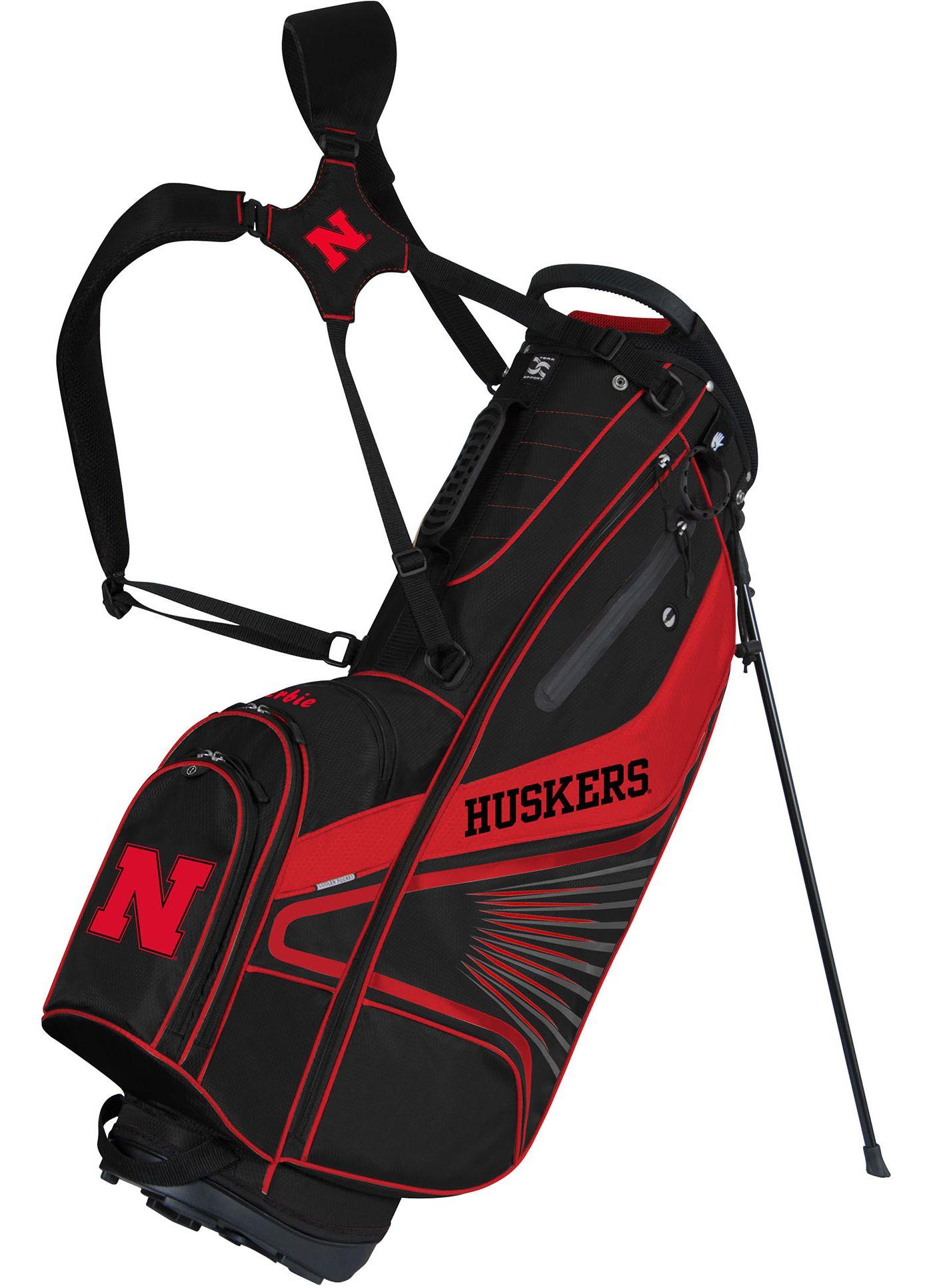 Team Effort GridIron III Nebraska Cornhuskers Stand Bag