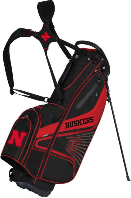 Team Effort GridIron III Nebraska Cornhuskers Stand Bag