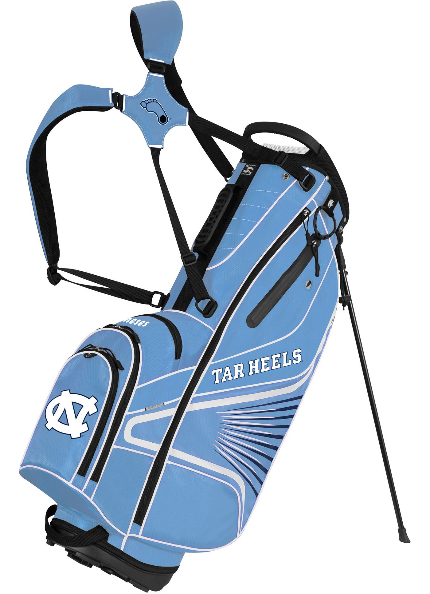 Team Effort GridIron III North Carolina Tar Heels Stand Bag