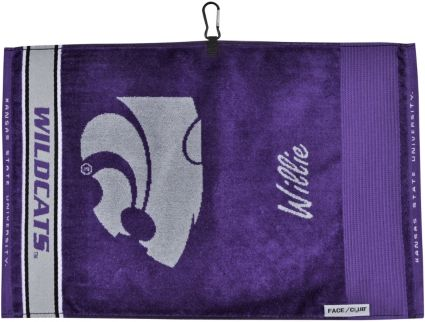 Team Effort Face/Club Kansas State Wildcats Jacquard Towel