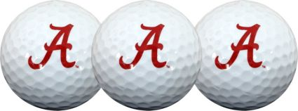 Team Effort Alabama Crimson Tide Golf Balls - 3 Pack