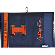 Team Effort Illinois Fighting Illini Jacquard Golf Towel